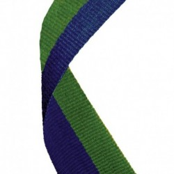 Medal Ribbon Blue & Green