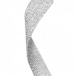 Glitter Ribbon Silver