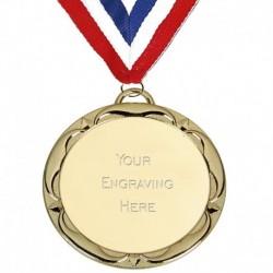 Target60 Tudor Rose Medal with