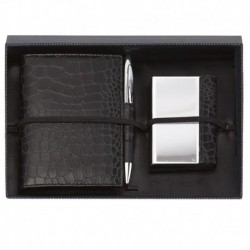Note Pad and Card Holder Box set