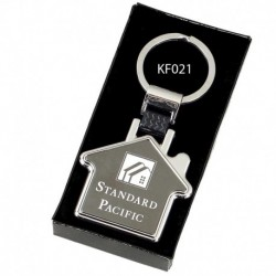 Crown-House Key Ring