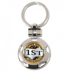 Crown 1st Place Keyring