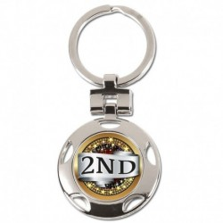 Crown 2nd Place Keyring