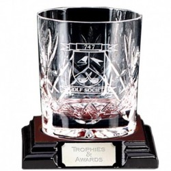 Knighton Crystal Lrge Whiskey Glass