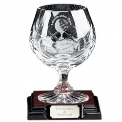 Knighton Crystal Brandy Glass