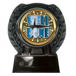 Alberta Acrylic Well Done Plaque (N