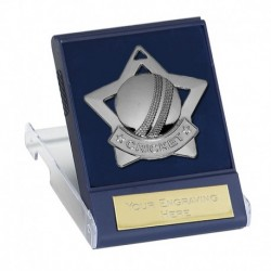 Mini Star Cricket Medal with Medal