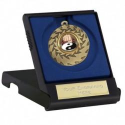 Prism50 Martial Arts Medal & Case (